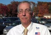 Delgaudio campaigning for York, back when they were happy