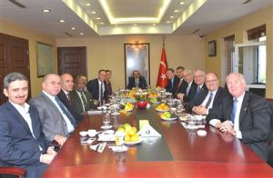 Far-flung Loudoun Board Chairman Scott York, third from right, in Turkey last week. Guess who's paying?!
